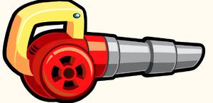 Leaf Blower Launcher