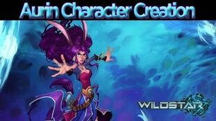 WildStar - Character Creation Aurin Male and Female