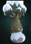 Large Snowy Bulbtree