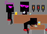 Wrecker at the bar