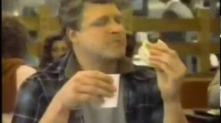 John Goodman & Megan Mullally McDonalds commercial (1983)