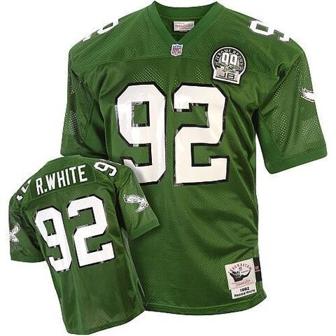 File:Mitchell And Ness Philadelphia Eagles 92 Reggie White Green Team Color Replica Throwback NFL Jersey.jpg