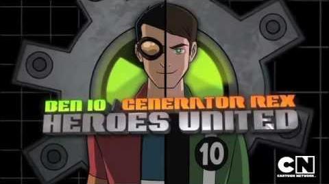 Ben 10 Generator Rex Heroes United - Preview