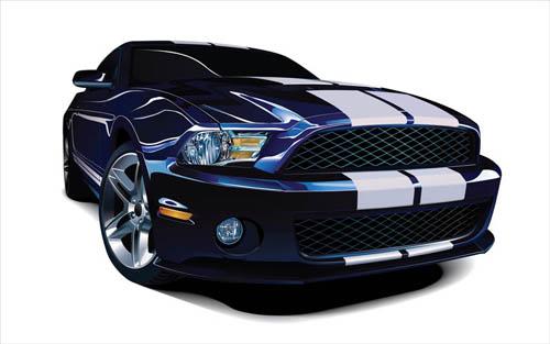 File:Photorealistic-mustang-vector-car.jpg