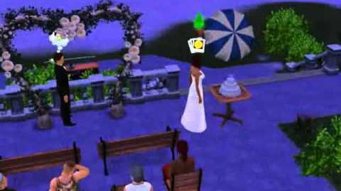 The Sims 3 - Death at a Wedding.