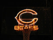Chicago bears in lights