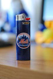 Mets Bic Lighter