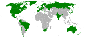 Worldwide Xbox Live availability map