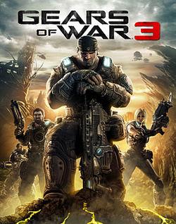 Gears of War 3 box artwork