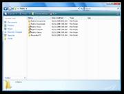 Windows Explorer Vista