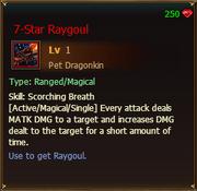 7-star Raygoul satchel