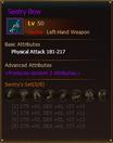 L50 HunterLH SentryBow