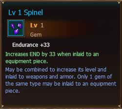 Gems Lv1 Spinel