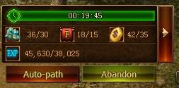 Escort Quest Bonus Toolbar