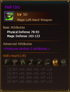 L50 MageLH HellOrb