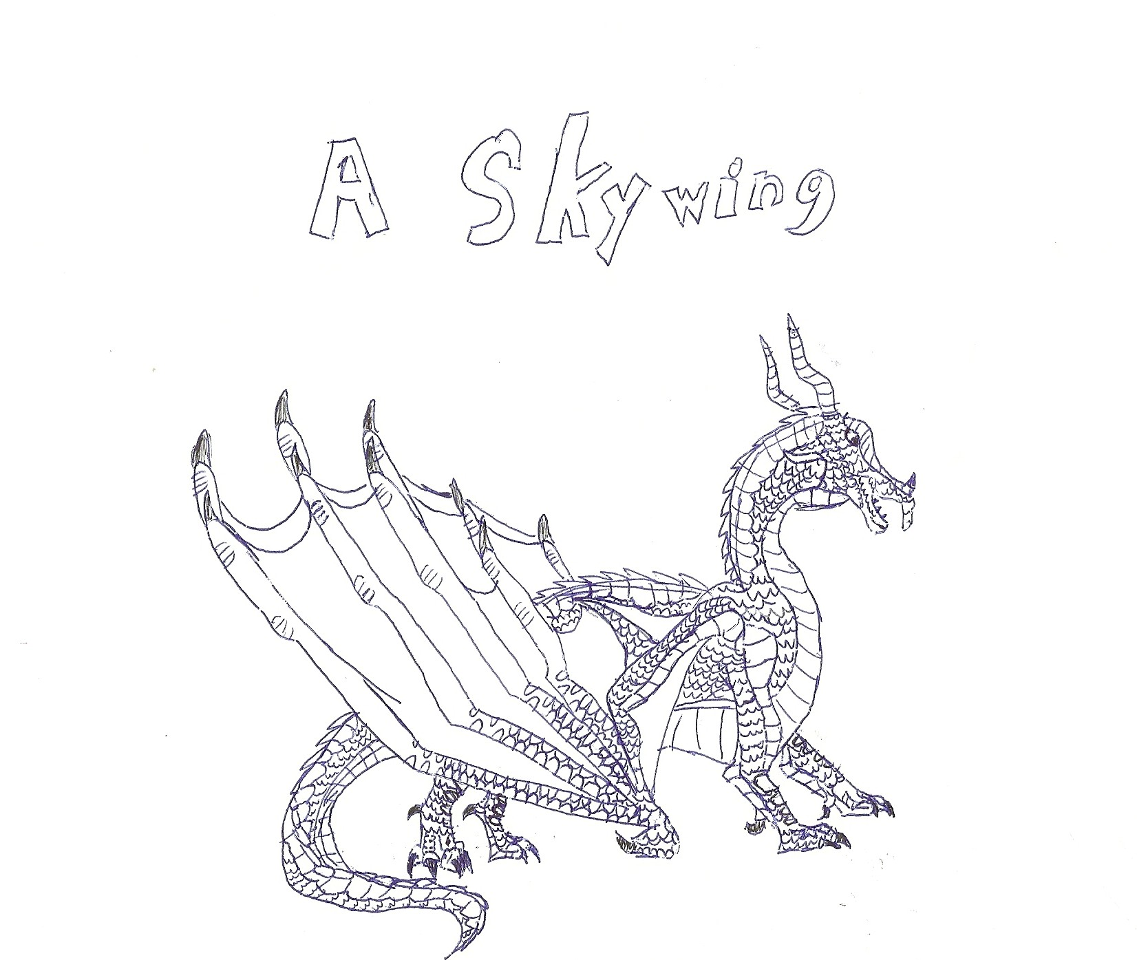 Wings Of Fire White Coloring Pages Of Sunny