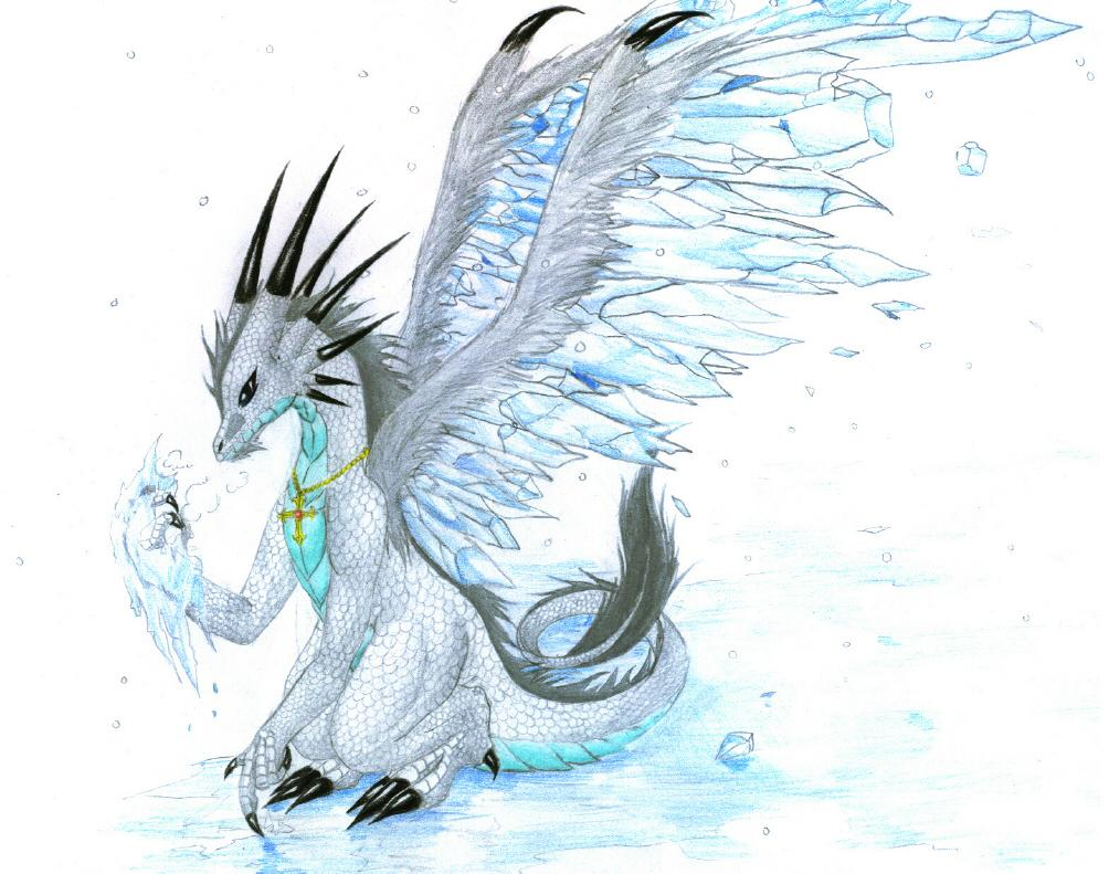 Image ice dragon by mistress of wings of for Gimnasio 5 dragones