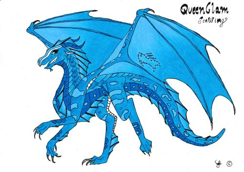 QueenClam (SeaWing) COLOURED