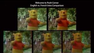 Welcome to Pooh Corner - English vs. French Intro Comparison