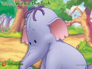 Pooh Wallpaper - Lumpy From Disney