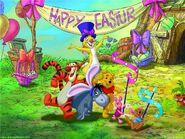 Pooh Wallpaper - Easter