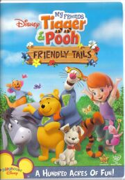 Winnie the Pooh - Friendly Tails DVD Case