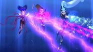 Blizzard + lightning bolt + dark spell 518 2