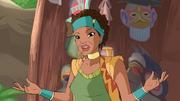 Wild woman of calavera
