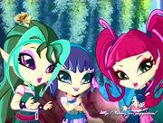 Narcissa, Maxine and Yucca