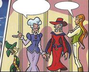 Winxclub comic issue 78 -Wizgiz Faragonda DuFour and Palladium