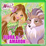 Flora & Amarok (Instagram)