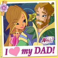 Winx Club - I Love My Dad! (Instagram)