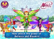 WFS - All Believix and Bloomix transformation outfit! (Christmas Update)
