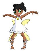 Steph age 7 royal dress