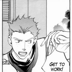 Uriah's Manga Appearance