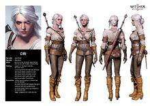 Ciri Witcher 3 The Wild Hunt Character Sheet.jpg