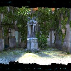 the statue in the Trade Quarter