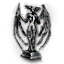 Tw3 statuette of a winged humanoid