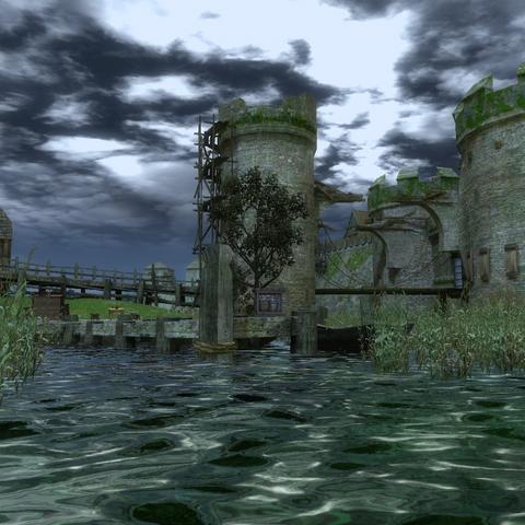 Визіма — однойменне місто на озері, столиця Темерії