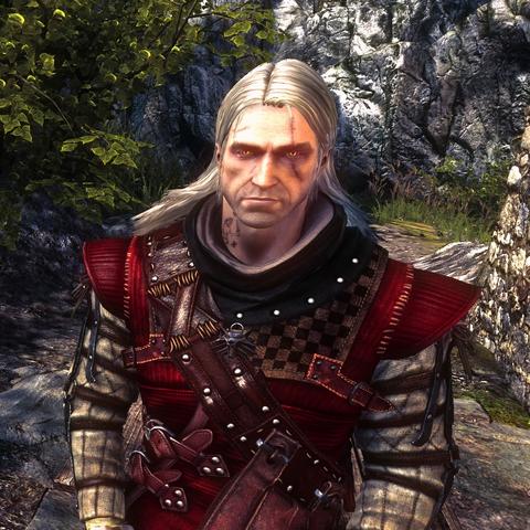 Geralt w Zbroi z Mahakamu