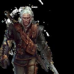 Geralt full model in <a href=