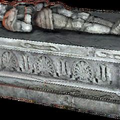 a sarcophagus