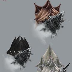 Варіанти зовнішнього вигляду Нагльфар, офіційний арт