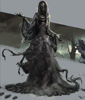Tw3 concept art Plague Maiden artbook