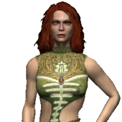 Triss Merigold in the original game.