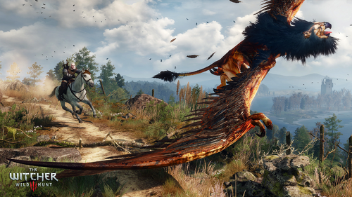 Witcher-Wild-Hunt-Griffin-Chase
