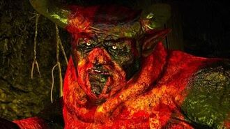 The Witcher 3 Fugas the Devil Boss Fight (Hard Mode)