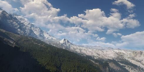Velen mountains