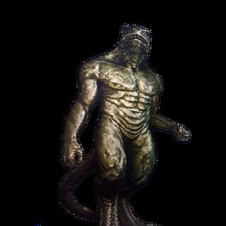 Statue in <a href=