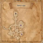 Map Ravens crypt
